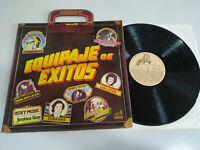 "Equipaje de Exitos Camilo Sesto Roxy Music Status Quo - LP Vinilo 12"" VG/VG 2T"