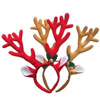 Reindeer Antlers Headband Headwear Hair Hoop Christmas Cosplay Party Prop Cheap