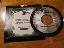 Epson 600Q Printer Software CD-Rom