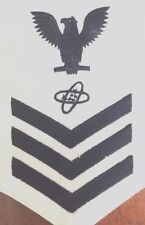 US NAVY : E6 RATE - ELECTRONIC TECHNICIAN WHITE PATCH