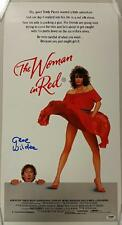 GENE WILDER Signed THE WOMAN IN RED 13x25 Original Movie Poster PSA/DNA