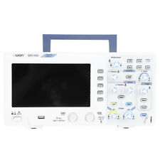 """7"""" Oscilloscopio digitale 2-Channel 100MHZ  Bandwidth 1GS/s Alta precisione EU"""