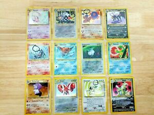 Pokemon NEO DISCOVERY COMPLETE SET 75/75 - NM Never played