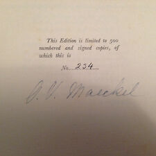 Dunkelgraf Mystery - Maeckel and Le Blond, Signed by both authors, Ltd Ed No 234