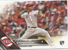 Robert Stephenson Cincinnati Reds 2016 Topps Update Rookie Card