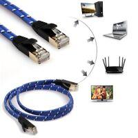 10m CAT-7 10 Gigabit Ethernet Patch Cable Modem Router RJ45 for LAN Network Lot