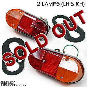 Austin Morris Mini Mk1, MGA Mk2, LUCAS Tail Lamp set of 2 NEW