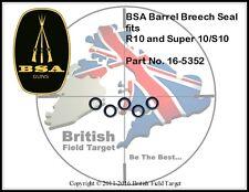5 x BSA GoldStar R10 Super10 Barrel / Breech O Ring Seals New