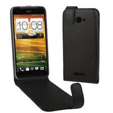 Flip Tasche in schwarz für HTC Butterfly X920e Etui Hülle Case Cover Schutzhülle
