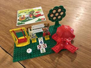 Lego Fabuland Set 3659 Play Ground (1987).