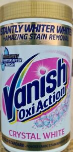 Vanish Fabric Stain Remover, Gold Oxi Action Powder Crystal 1.35kg Sealed New