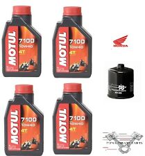 HONDA CBR600F2 1991–1994 100% Synthetic Oil and Oil Filter Kit