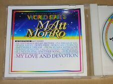 DVD KARAOKE / BEST KARAOKE OF MATT MONRO VOL 3 / WORLD STAR 3 / TRES BON ETAT