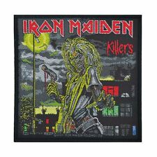 Iron Maiden Killers Woven Patch Official Merchandise