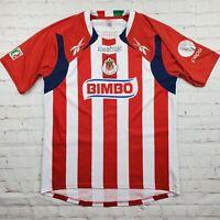 Chivas Guadalajara Reebok Bimbo Toyota Mexico Soccer Jersey Retro Men's Size M