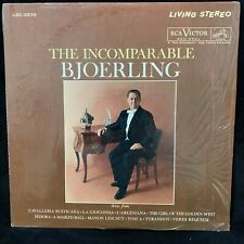 RCA Living Stereo LSC-2570 JUSSI BJOERLING - The Incomparable - WD ST LP shrink