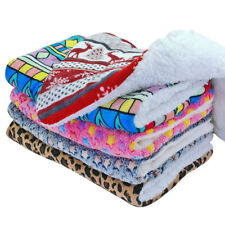 Indestructible Warm Plush Cushion Fleece Mattress Sleep Bed Mat Kennel Cage S-XL