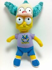 Bart Simpson With Krusty the Clown Hat Plush Doll