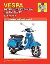 Vespa Motorcycle Repair Manuals & Literature