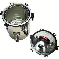 Medical Dental Equipment Stainless Steel Pressure Steam Autoclave Sterilizer 18L