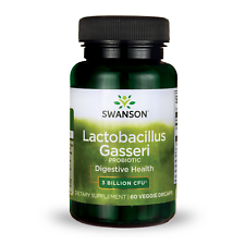 Swanson Lactobacillus Gasseri Probiotic Vegetable Capsules, 3 Billion CFU, 60 Ct