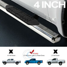 """4"""" OVAL CHROME SIDE STEP BARS RUNNING BOARD AC FOR 05-18 TACOMA ACCESS/EXTENDED"""