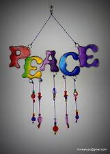 Peace Rainbow Mobile Suncatcher, Free Shipping
