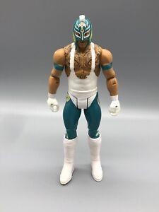 Rey Mysterio WWE Mattel Wrekkin Kicking Action Figure 2019 Masked Wrestler A5
