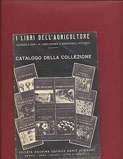 Catalogo della Collezione Manuali e Testi Agricoltura e Zootecnia Moderna 1942