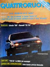 Quattroruote 409 1989 Come sarà la nuova Alfa 33. Audi 90 4 20 valvole  [Q.8]