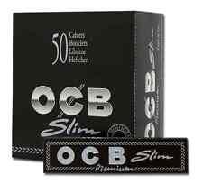 Boite de 50 paquets ocb slim papier à rouler  / neuf emballé sous blister (PR)