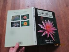 FRANCES PERRY collins guide waterlilies and other aquatic plants jaquette photos