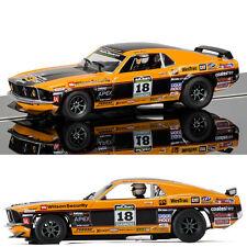 SCALEXTRIC Slot Car C3671 Ford Mustang Boss 302 1969 - John Bowe
