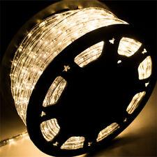 150' FT LED Rope Light 110V Party Home Christmas Outdoor Xmas Lighting Festival