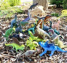 Big Lot of 21 Large & Medium Dinosaur Figures | Modern/Vintage Mix | T-Rex (Ts)