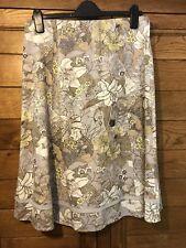 Laura Ashley Linen Mix Skirt. Size 12. BNWT