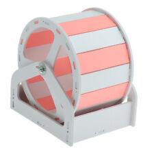Mouse Wooden Exercise Wheel Silent Hamster Running Wheel Pet Toy Wheel