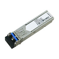 S25-2MLC-2 Interlogix Compatible 100BASE-FX 1310nm 2km Transceiver