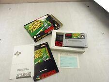 Jeu pour console Super Nintendo SNES, Super Tennis, en Allemand