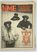 NME 28 January 1984 Aswad Sade Adu Holger Hiller Gene Loves Jezebel Superbowl