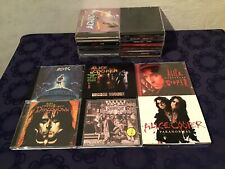 Heavy Metal Hard Rock Cds Musik Cd Sammlung Music Lot ua AC/DC ALICE COOPER