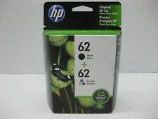 HP 62 Ink Set Genuine N9H64FN C2P04AN C2P06AN * SHIPS OVERBOXED * Date: Feb 2020