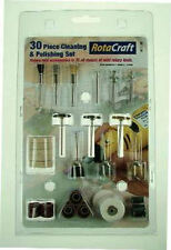 Rotacraft 30 Piece Cleaning and Polishing Set For Rotary Tools RC9002