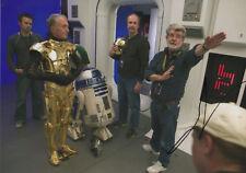 "GEORGE LUCAS ""Star Wars"" autographe signed 20x30 cm image"
