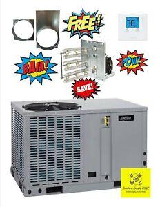 Ameristar By Trane M4PH4048A1000A 4 Ton,14 SEER, Heat Pump Package Unit, 208-230