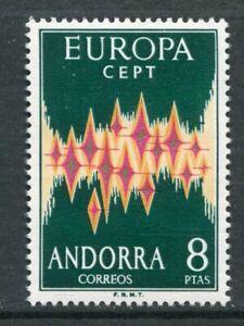 ANDORRA SPANISH 1972 EUROPA CEPT MNH Stamp High cat