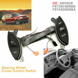 Steering Wheel Cruise Control Switch For 98-05 Ford Explorer Sport Trac Ranger