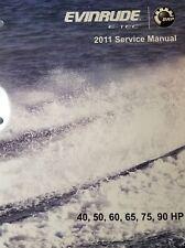 2011 EVINRUDE E-TEC 40, 50, 60 ,65- 75, 90 hp SERVICE MANUAL PN 5008328