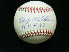 Billy Williams HOF 87 Chicago Cubs baseball TriStar MLB COA