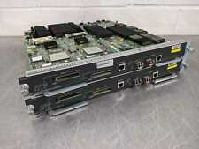 Lot of 2 Cisco WS SUP720 3B Supervisor 720 Integrated Switch Fabric